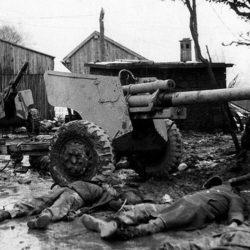 Premiers massacres de G.I.'s et de civils belges à Honsfeld par les Allemands