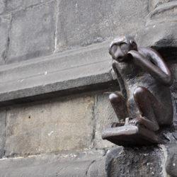 Le singe de la Grand-Place de Mons