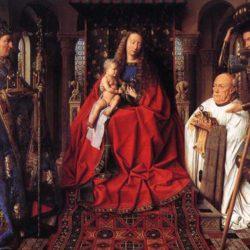 La peinture à l'huile de Jan Van Eyck