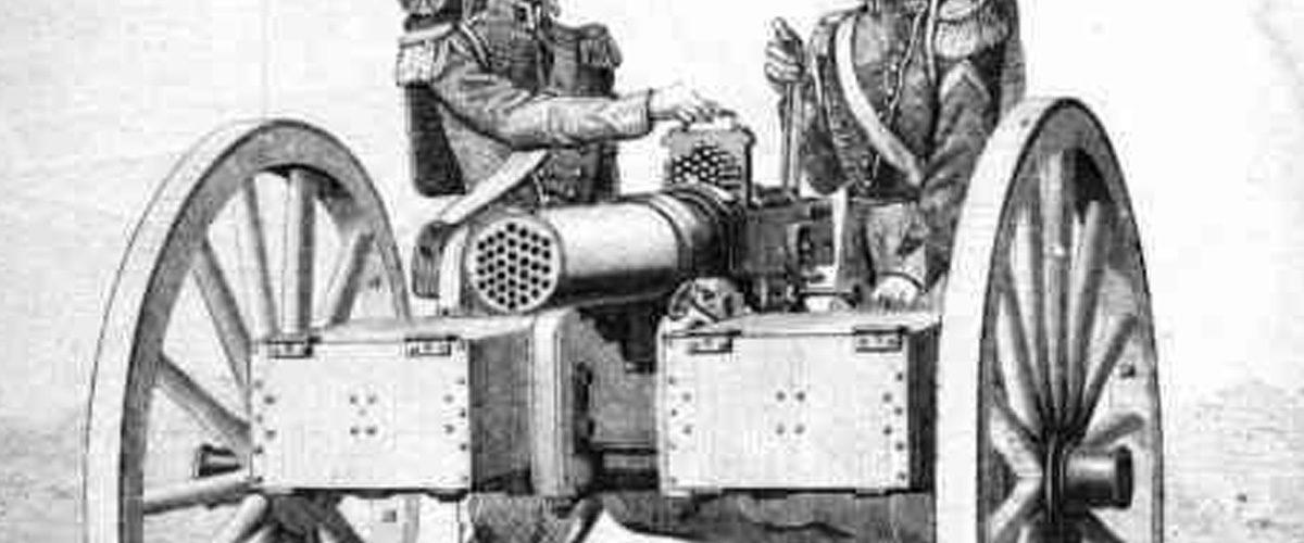 La mitrailleuse de Toussaint Fafchamps