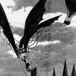 Vincent De Groof, L'homme-Volant