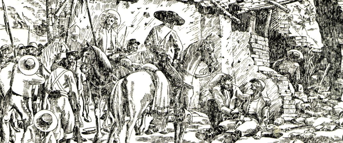 Deux héros belges dans la bataille de Camerone