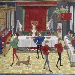 À table au Moyen-Âge