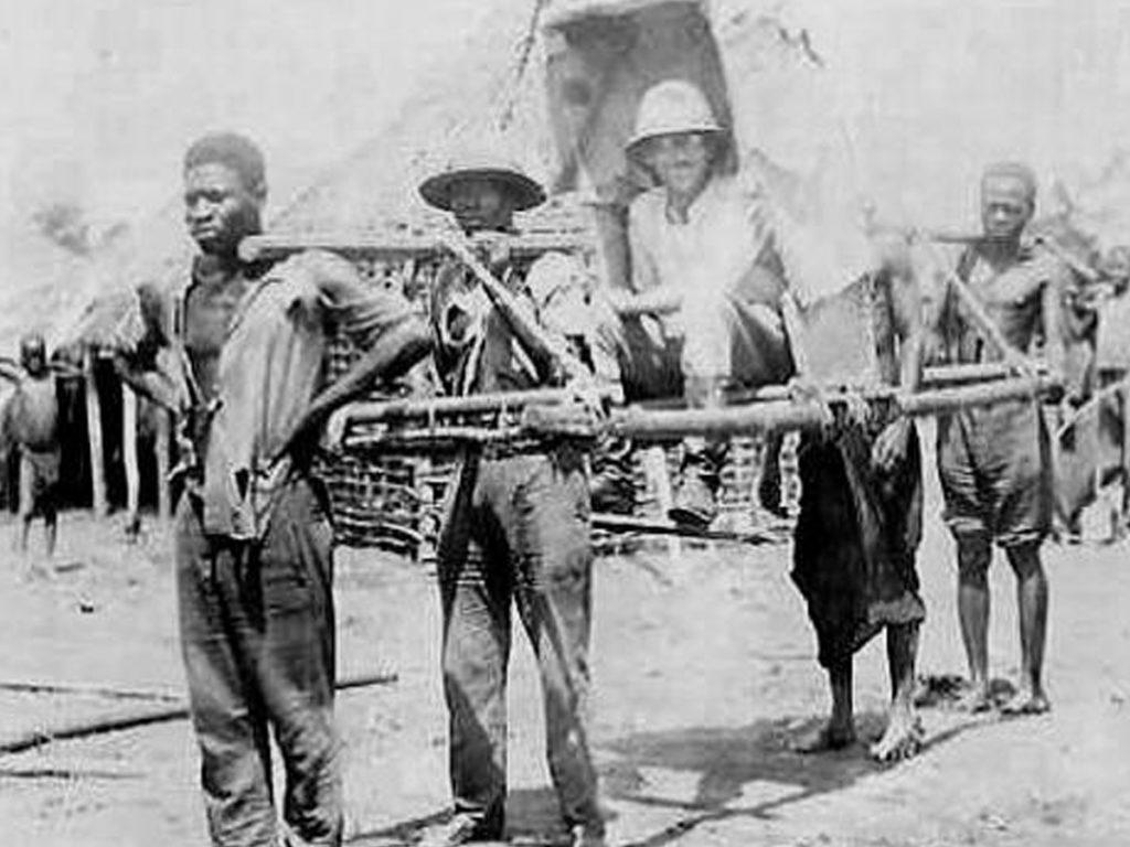Au Congo, tu portes ou tu meurs. Tu portes ou tu meurs…