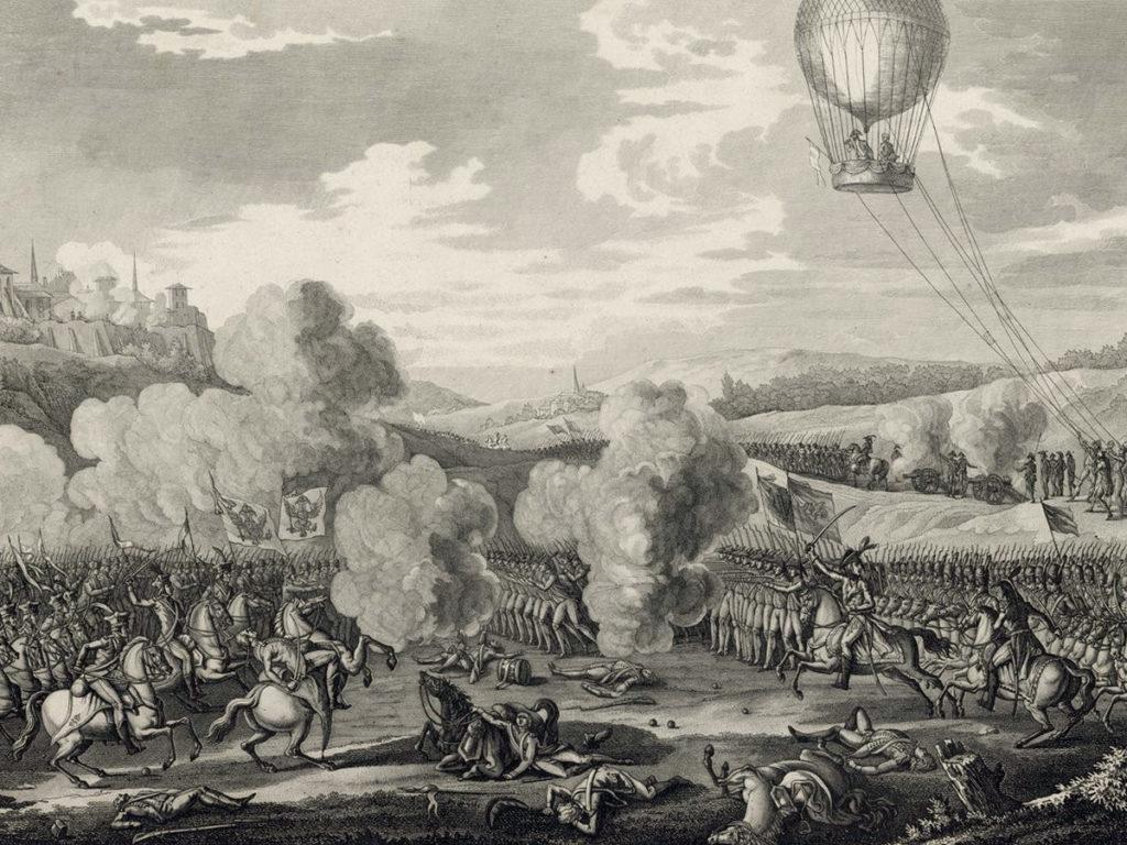 La première guerre aérienne de l'histoire eut pour cadre le Hainaut