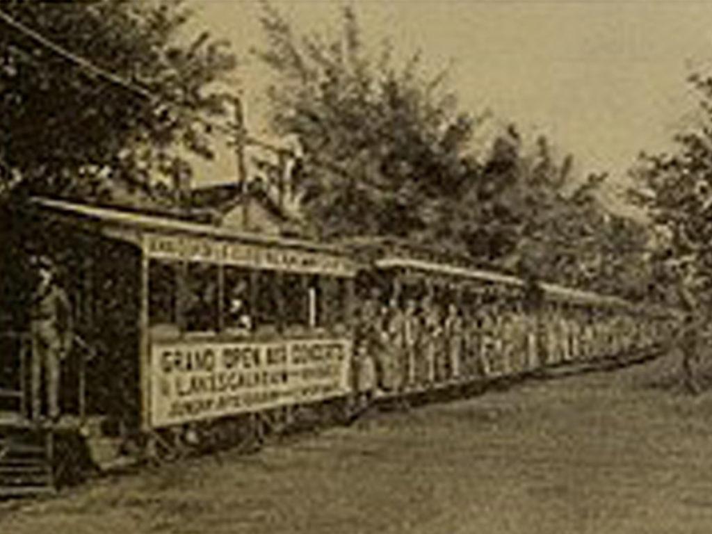 Les trolleys de Charles Van De Poele