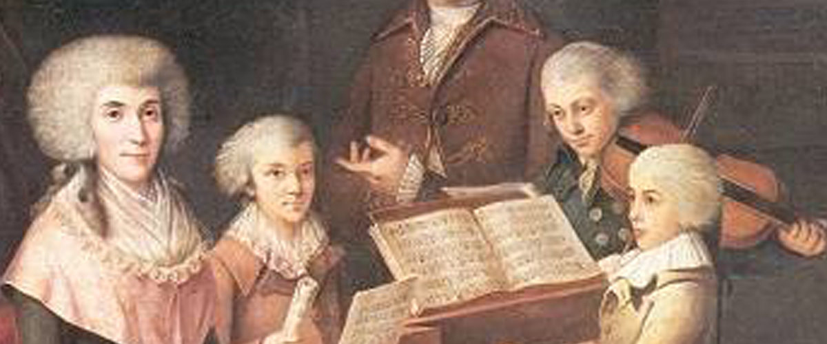 Le petit Mozart à Bruxelles