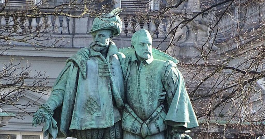 Les comtes d'Egmont et de Hornes exécutés à Bruxelles pour crime de lèse-majesté